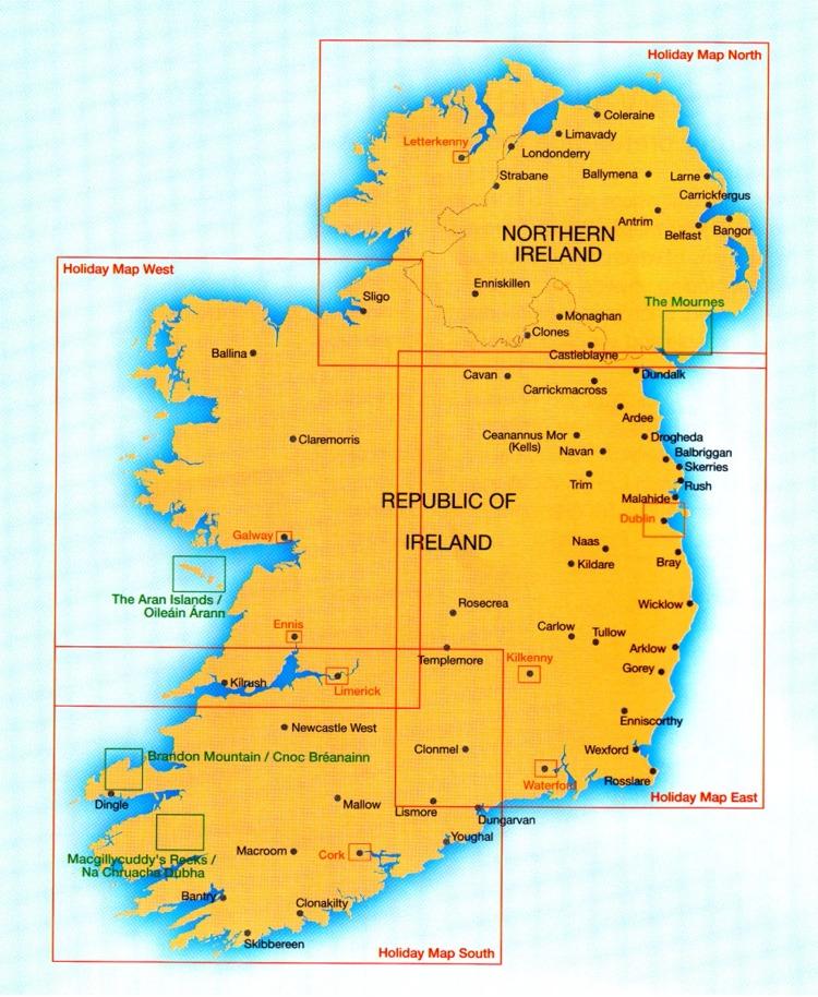 Strassenkarten Irland Geobuchhandlung Kiel
